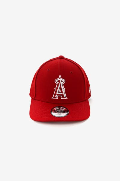 New Era Youth Los Angeles Angels 9FORTY HookLP Scarlet