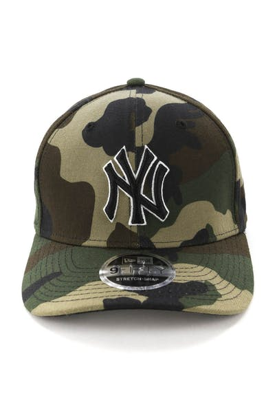 c05824e90 New Era New York Yankees 9FIFTY Stretch Snapback Woodland Camo