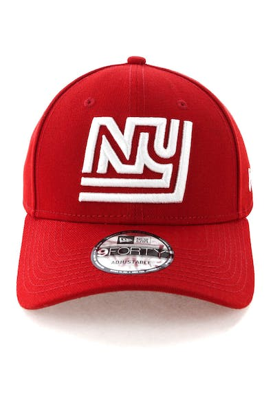 New Era New York Giants 9FORTY Snapback Scarlet