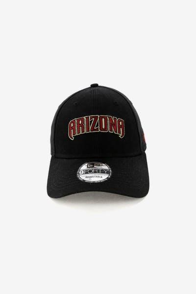 New Era Arizona Diamondbacks 9FORTY Cloth Strapback Black 70521adae