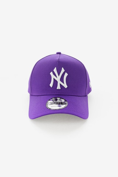 New Era New York Yankees 940 A-Frame UV Snapback Purple/Grey