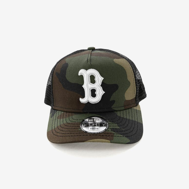 7518636186e New Era Youth Boston Red Sox CK 9FORTY A-Frame Trucker Camo Black – Culture  Kings NZ