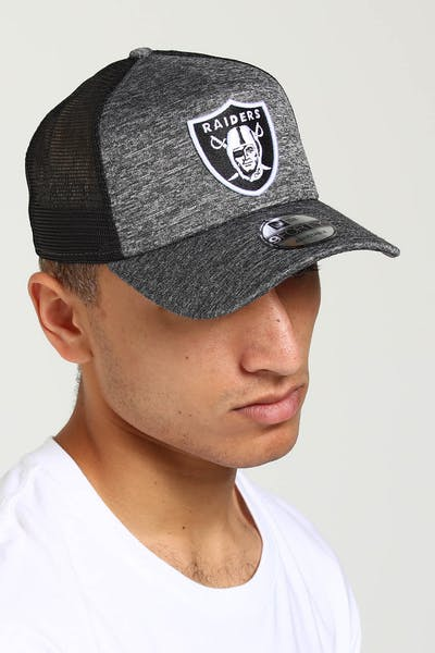 competitive price e2be0 285cc New Era Raiders CK 9FORTY A-Frame Trucker Snapback Shadow Tech ...