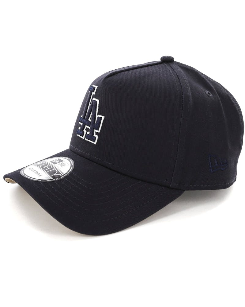 New Era Los Angeles Dodgers 9FORTY A-Frame UV Snapback Navy/Camel