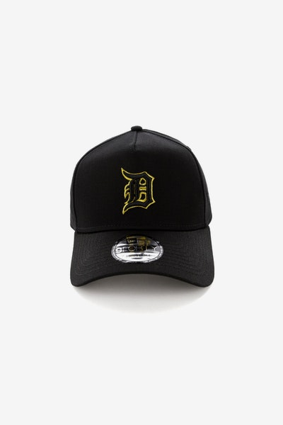 New Era Detroit Tigers 940 A-Frame Snapback Outline Black/Gold
