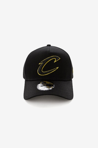 New Era Cleveland Cavaliers 940 A-Frame Snapback Outline Black/Gold