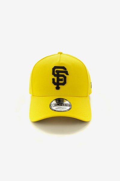 New Era San Francisco Giants 940 A-Frame Snapback Yellow/Black