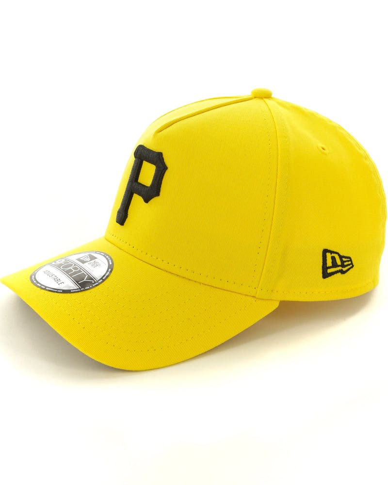 New Era Pittsburgh Pirates 9FORTY A-Frame Snapback Yellow/Black