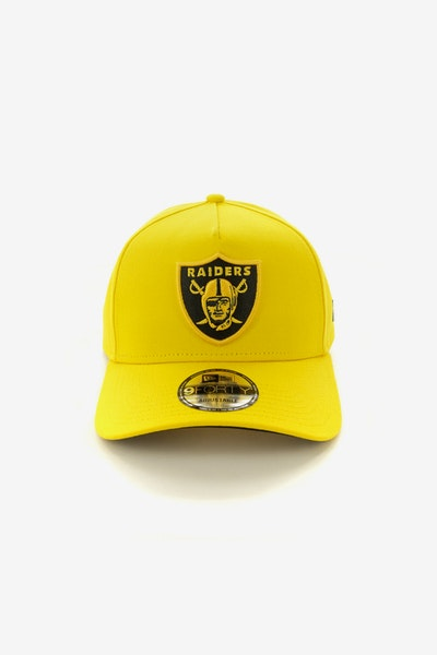 New Era Raiders 940 A-Frame Snapback Yellow/Black
