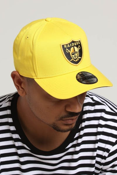 New Era Raiders 9FORTY A-Frame Snapback Yellow/Black