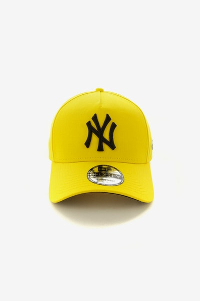 New Era New York Yankees 940 A-Frame Snapback Yellow/Black