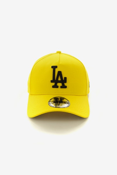 New Era Los Angeles Dodgers 940 A-Frame Snapback Yellow/Black