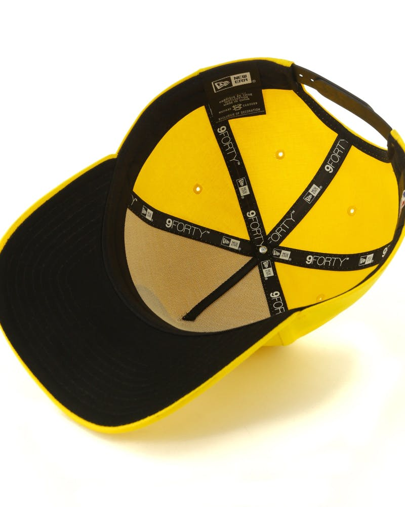 New Era Los Angeles Dodgers 9FORTY A-Frame Snapback Yellow/Black