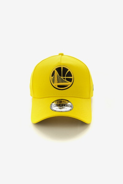 New Era Golden State Warriors 940 A-Frame Snapback Yellow/Black