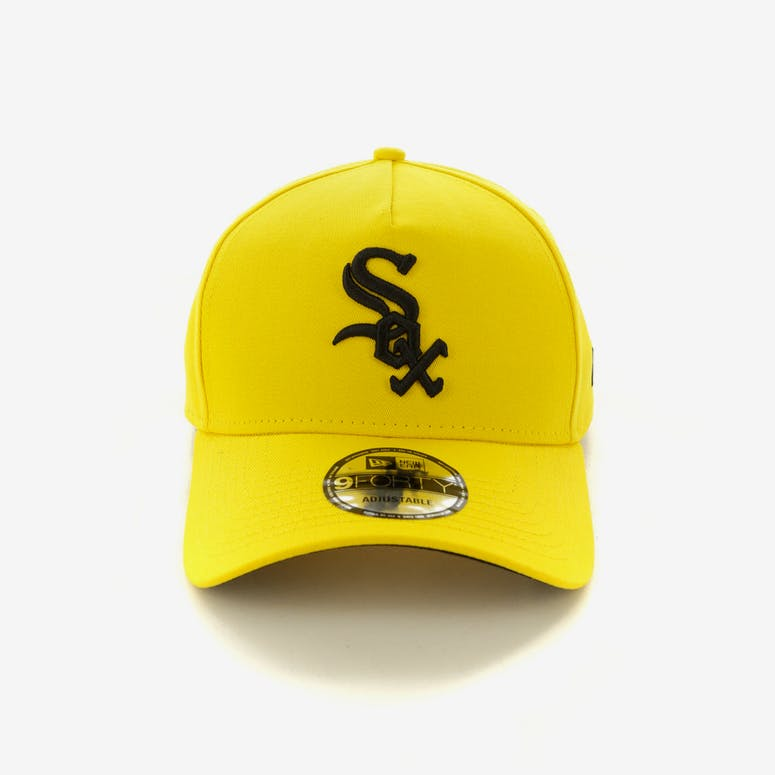 New Era Chicago White Sox 9FORTY A-Frame Snapback Yellow Black ... 38ac9bb0d0fd
