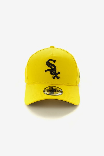 New Era Chicago White Sox A-Frame Snapback Yellow/Black