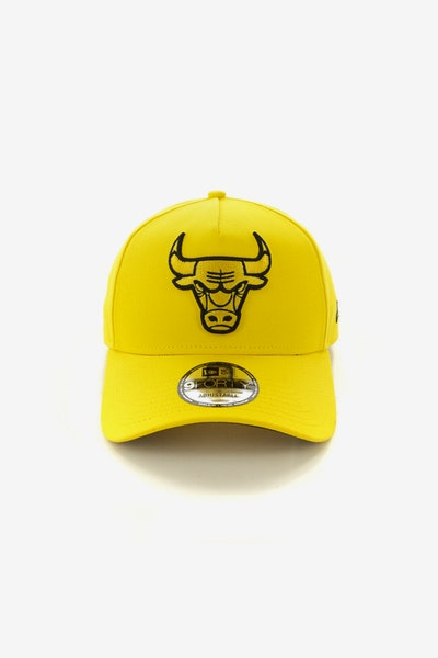 New Era Chicago Bulls 940 A-Frame Snapback Yellow/Black