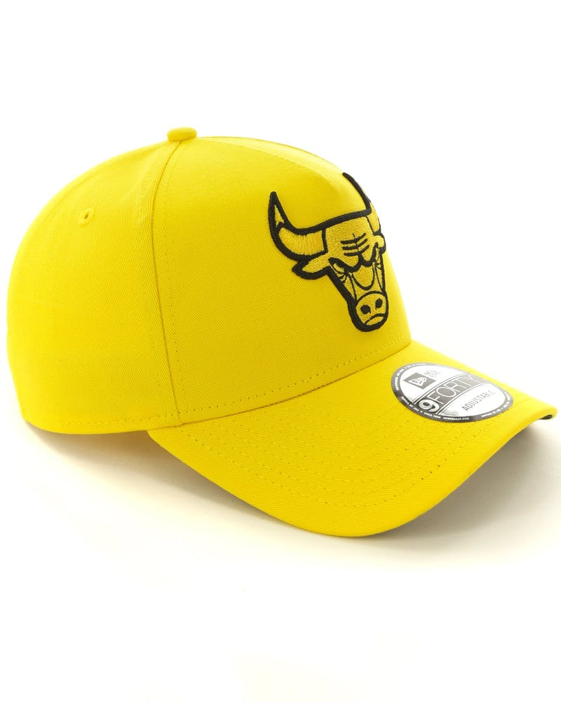 New Era Chicago Bulls 9FORTY A-Frame Snapback Yellow/Black