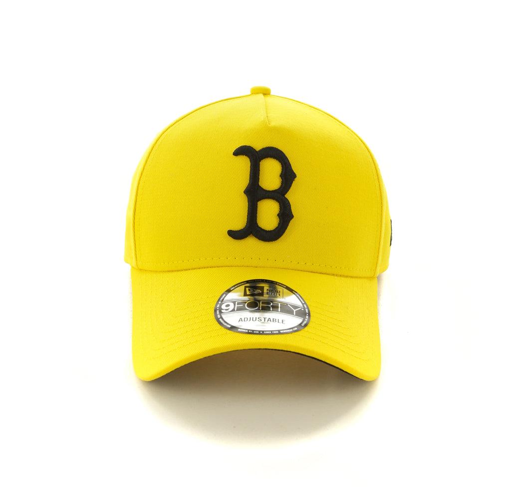 4aadd300e29 ... czech new era boston red sox 9forty a frame snapback yellow black 5487f  6445b