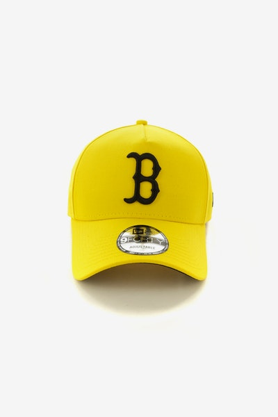 New Era Boston Red Sox 940 A-Frame Snapback Yellow/Black