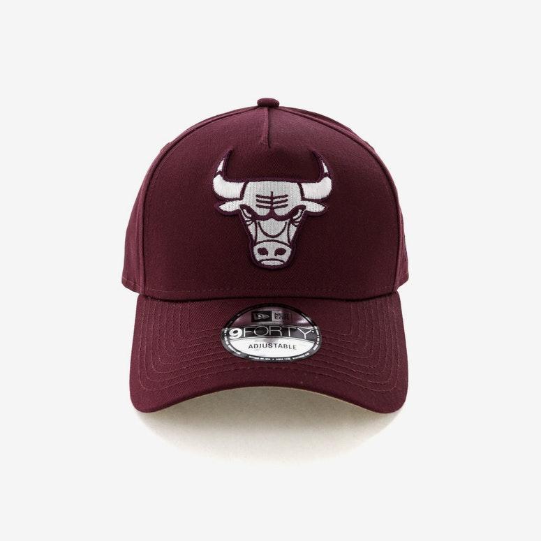 New Era Chicago Bulls CK 940 A-Frame Snapback Burgundy/Tan