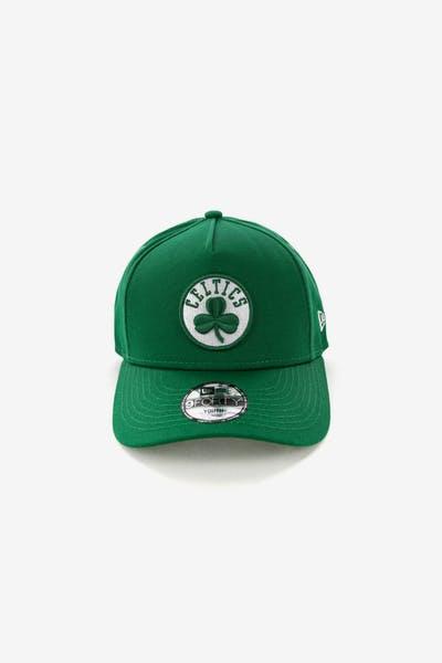 New Era Youth Boston Celtics 9FORTY A-Frame Snapback Emerald Green c7900fb23c6