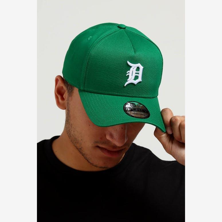 d547e48d285 New Era Detroit Tigers CK 9FORTY A-Frame Snapback Emerald Green