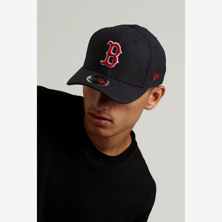 790c5ed384a New Era Boston Red Sox 9FIFTY Stretch Snapback Navy – Culture Kings NZ