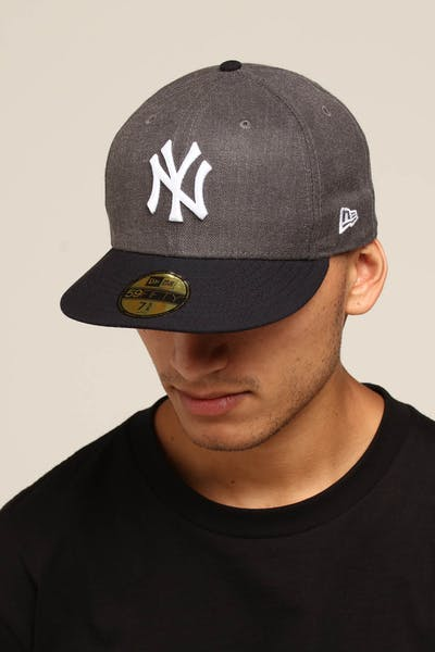 d11cf03a16524 New Era New York Yankees 59FIFTY Fitted Graphite Heather
