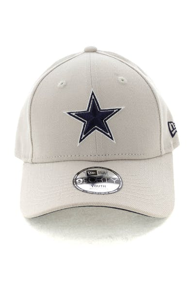 new product 625b7 6bd60 Kids. New Era Youth Dallas Cowboys 9FORTY HookNLoop Stone ...