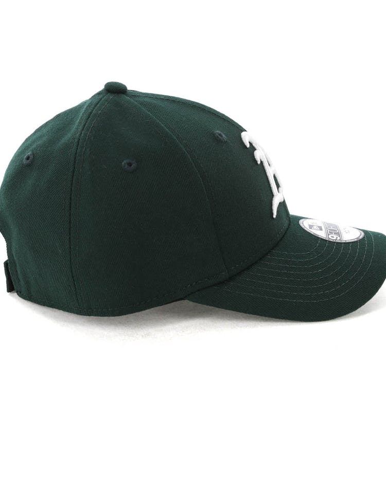 5a6b9624b New Era Youth Oakland Athletics 9FORTY HookNLoop Dark Green