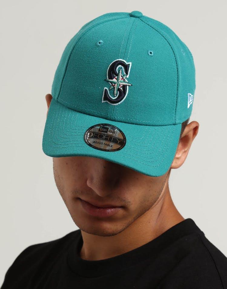 huge selection of 97b25 4339e New Era Seattle Mariners 9FORTY Snapback Dark Green