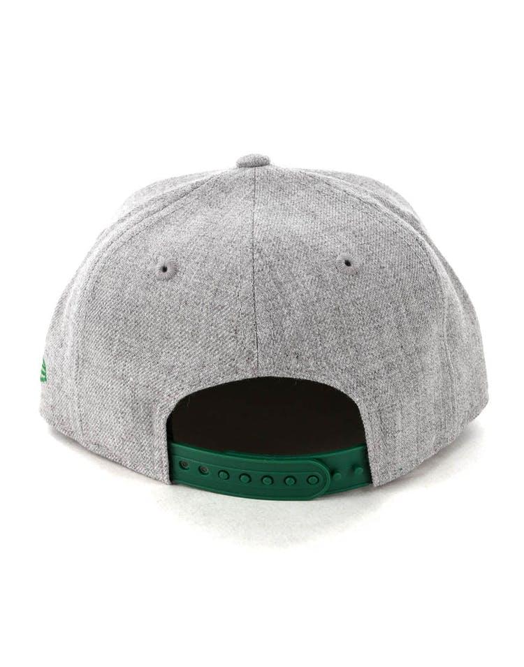 d5cfb731a896c New Era Youth Boston Celtics 9FIFTY Snapback Heather Grey – Culture ...