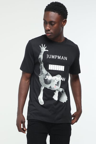 Jordan Jumpman Photo Tee Black