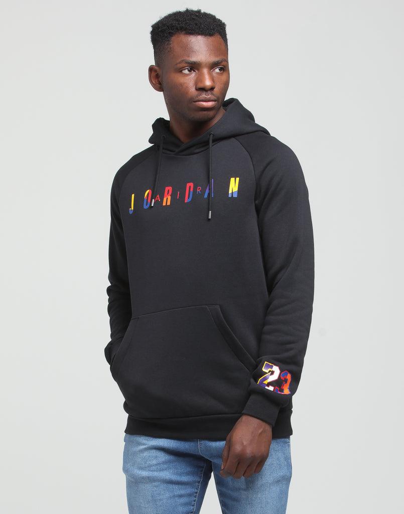 Jordan DNA Fleece Pullover Hoodie Black