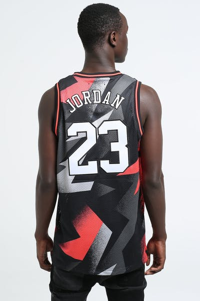 Jordan X Paris Saint-Germain BCFC Mesh Jersey Black/Infrared