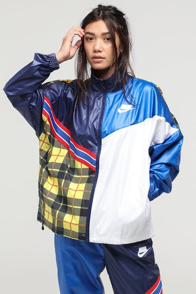 Nike Women's Nike Sportswear NSW Jacket Blue/Royal/White
