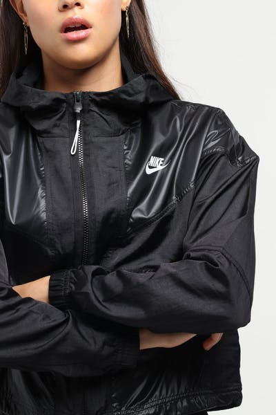 Nike Women's Sportswear Windrunner Black/White