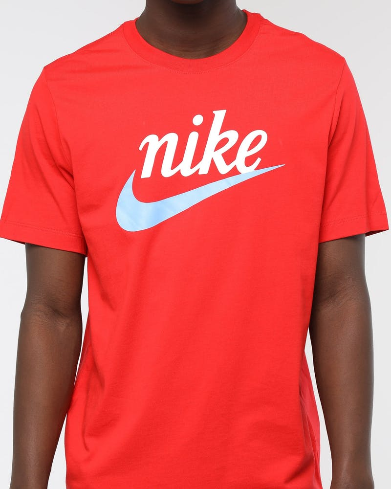 Nike Sportswear Heritage Tee University Red