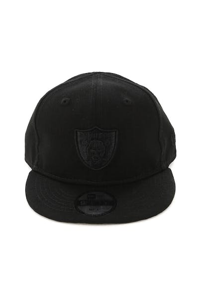 New Era My 1st Raiders 9FIFTY Snapback Black/Leopard