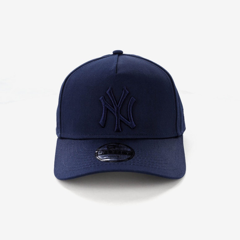 6b9dbe01b46e7 New Era Youth New York Yankees 9FORTY A-Frame Strapback Teal ...