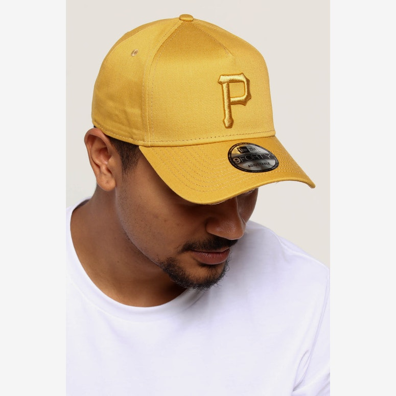 86c827c6149 NEW ERA PITTSBURGH PIRATES 9FORTY A-FRAME SNAPBACK GOLD – Culture ...