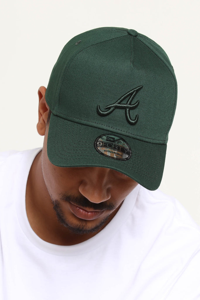 sports shoes 6aa04 f5072 ... sweden new era atlanta braves 9forty a frame snapback jade 792a5 c40f2
