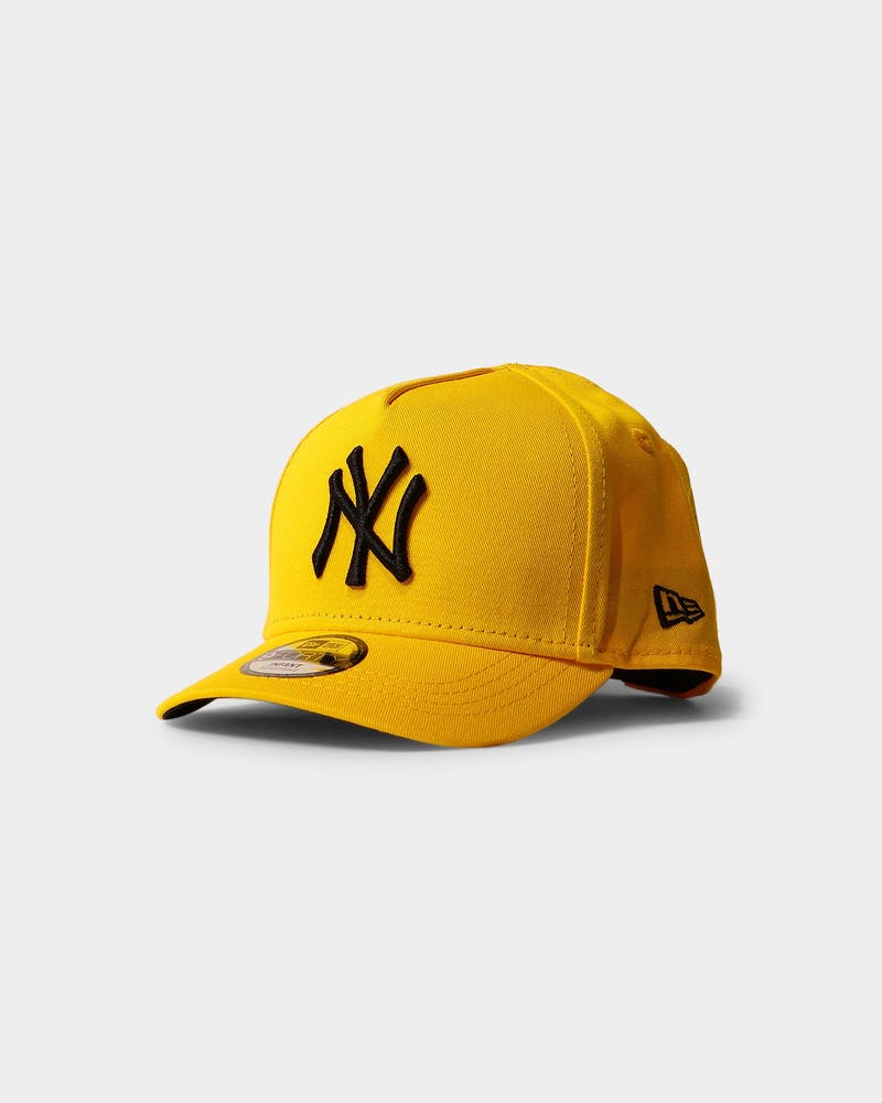 New Era Infant New York Yankees 9FORTY A-Frame Snapback Yellow/Black
