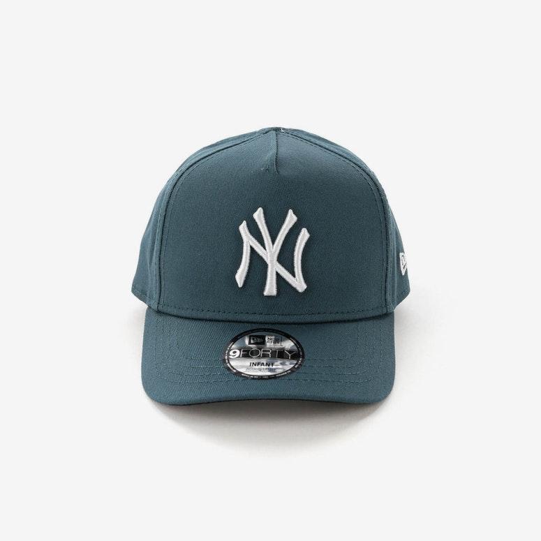 New Era Infants New York Yankees 9FORTY A-Frame Snapback Blue Spruce ... c9ed678a2112