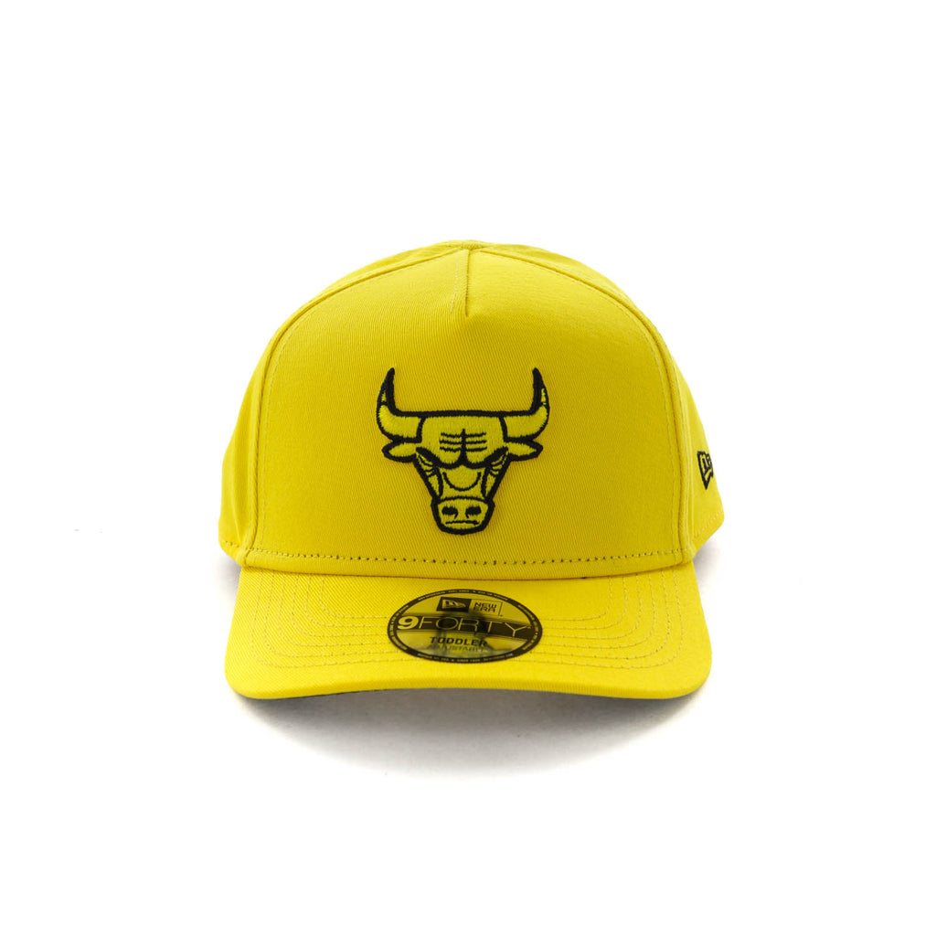 ab7a2fca169 cheapest chicago bulls hat f0703 01782  switzerland new era toddlers chicago  bulls 9forty a frame snapback yellow black 133a1 31635