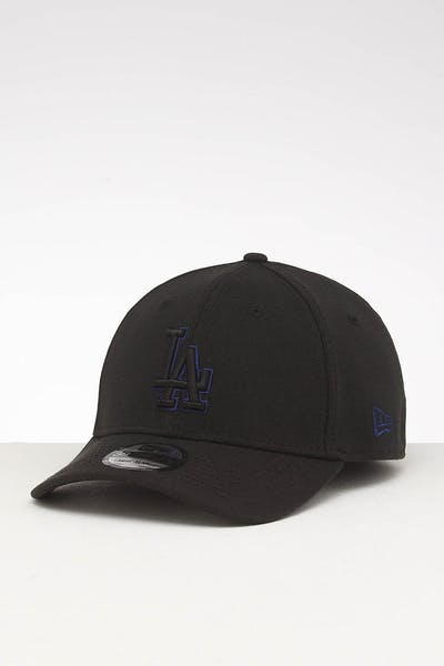 New Era Los Angeles Dodgers 39THIRTY Stretch Fit Black