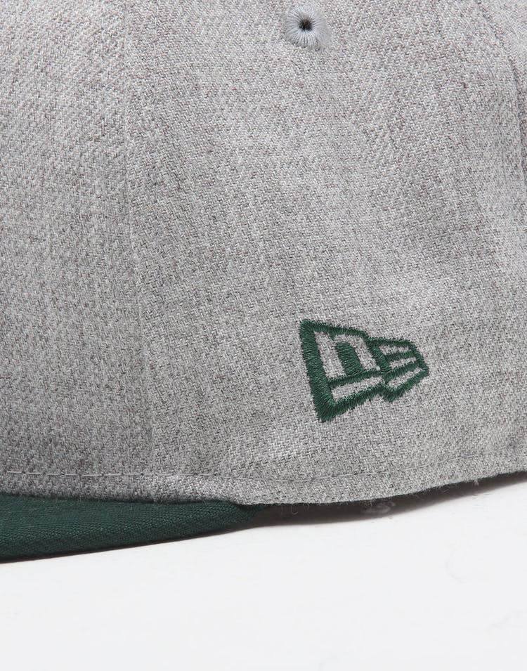New Era Youth Oakland Athletics 9FIFTY Snapback Heather Grey/Green