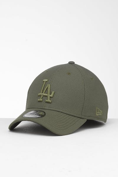 New Era Los Angeles Dodgers 39THIRTY Stretch Fit Olive