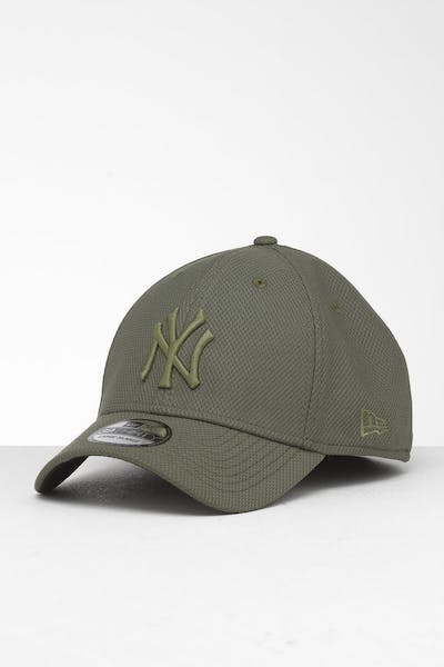 New Era New York Yankees 39THIRTY Stretch Fit Olive